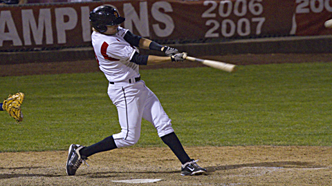 Brett Krill posted .304/.350/.488 marks at Class A Salem-Keizer in 2011.